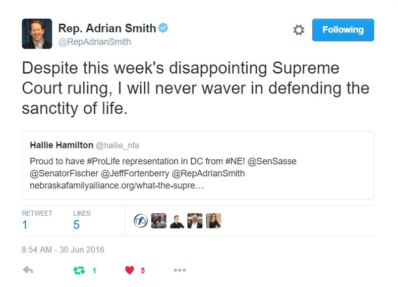 Smith Tweet