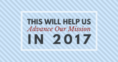 Help Us Advance Our Mission