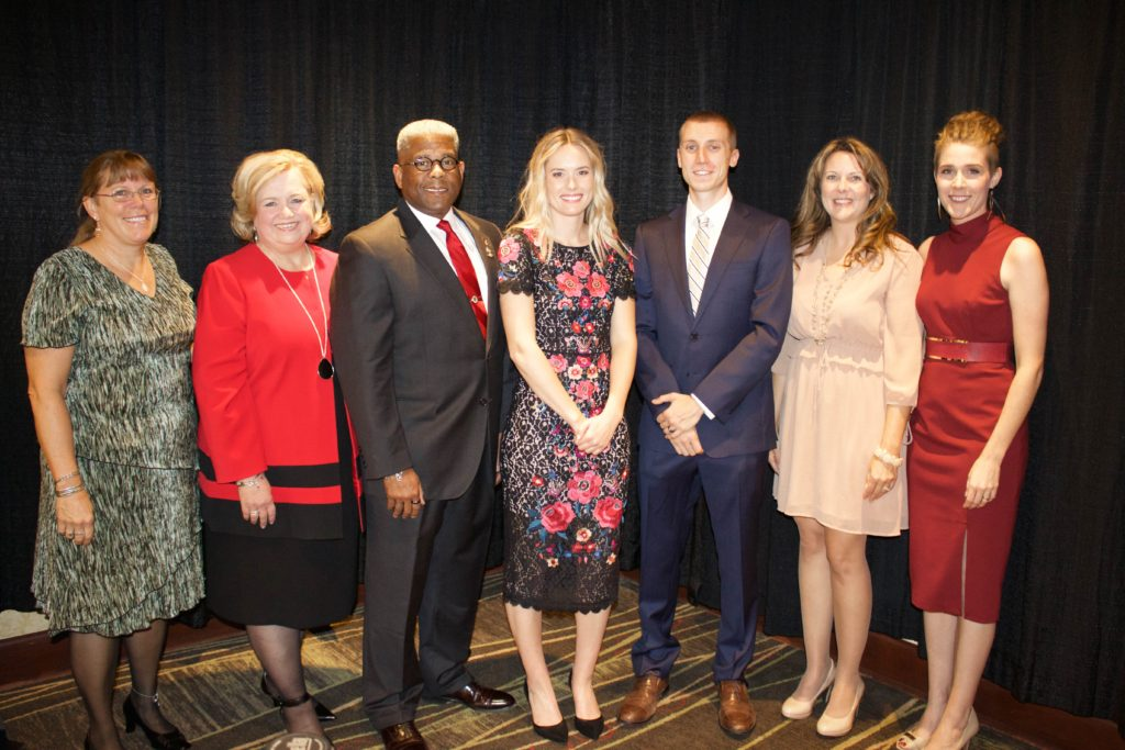The NFA team snapped a quick photo with our special guests Allen West and Hannah Huston.