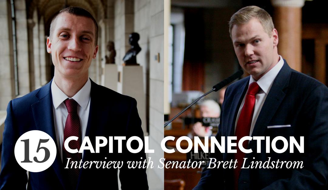 Episode 15: Interview with Senator Brett Lindstrom