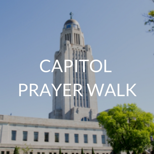 CAPITOL PRAYER WALK