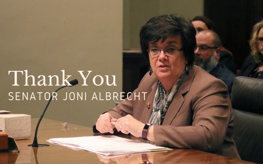 Honoring Life & Helping Grieving Families: Interview with Senator Joni Albrecht – Episode 63