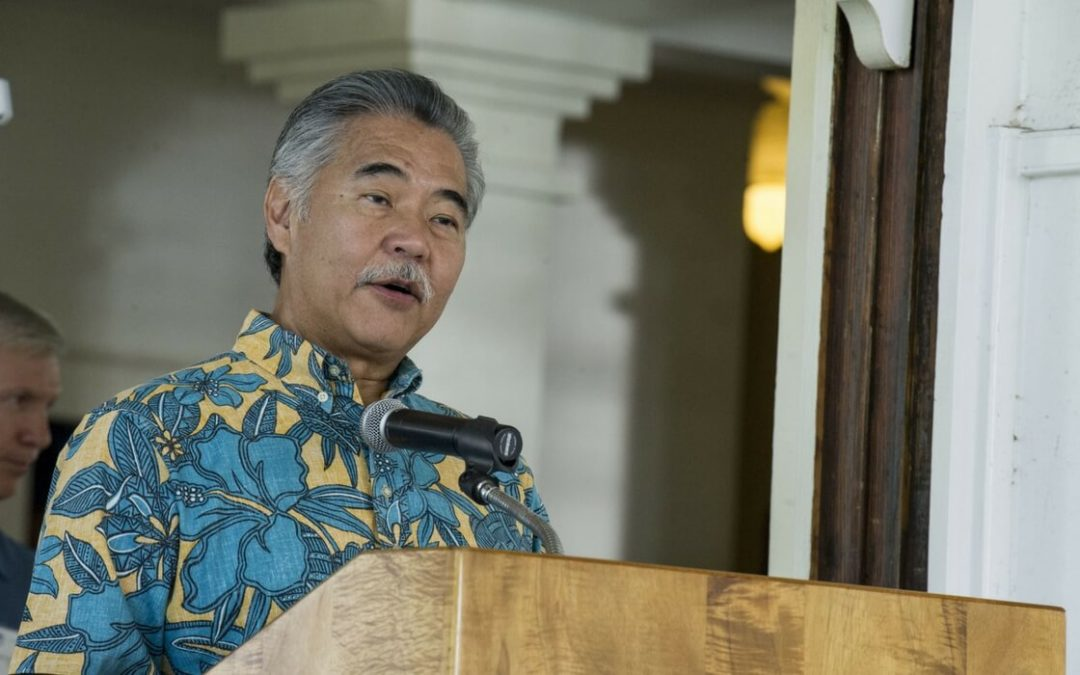 Hawaii Governor Signs Bill Legalizing Doctor Prescribed Suicide