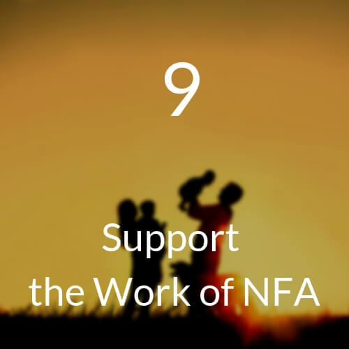 9 Support the Work of NFA