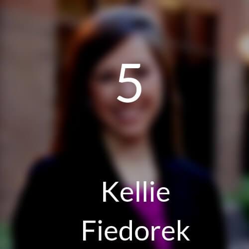 5 Kellie Fiedorek