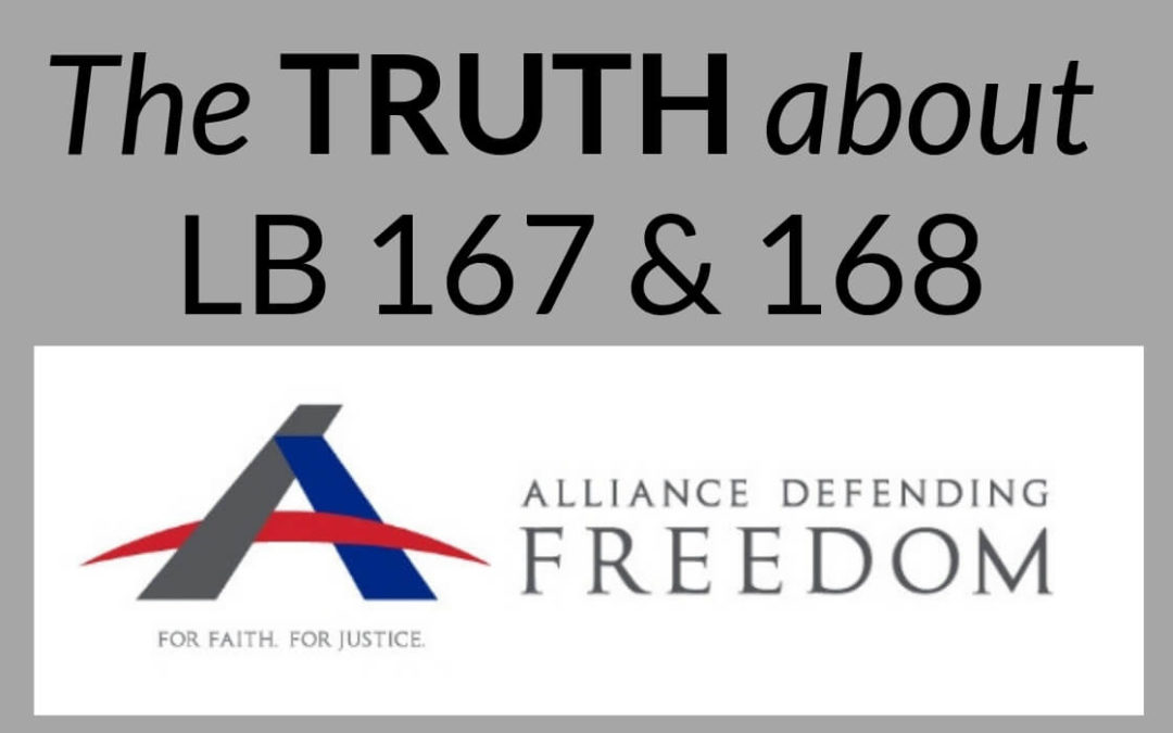 The Truth About LB 167 & 168