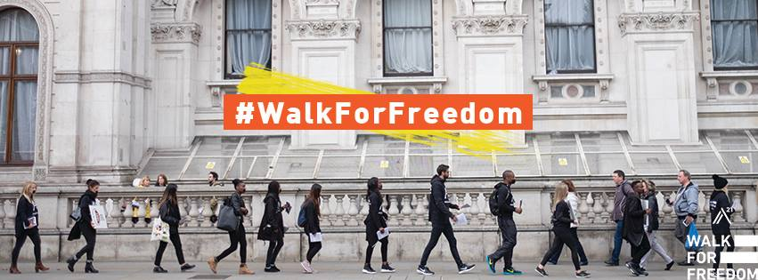 The A21 Walk for Freedom – A Global Response to Human Trafficking