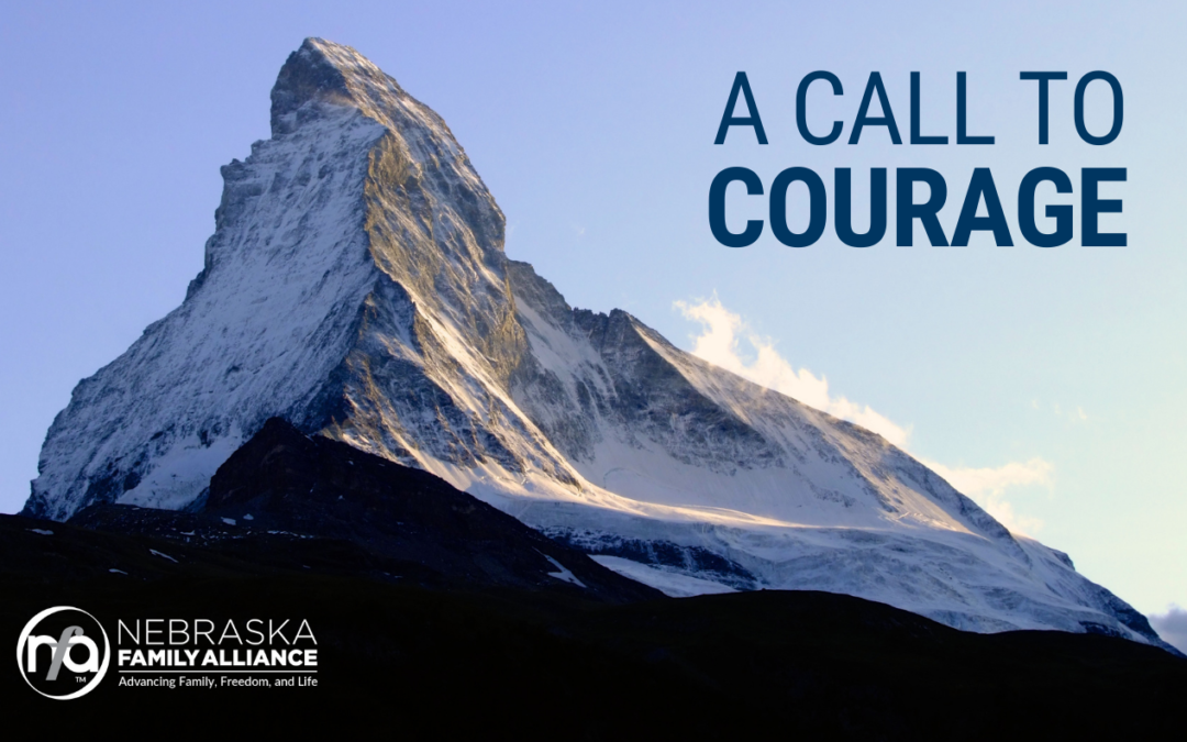 Will You Stand With Courage For Children?